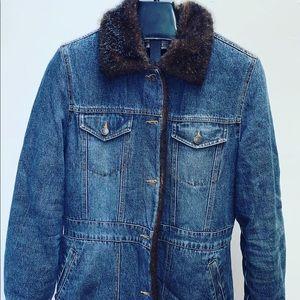 Unisex Vintage Marvin Richards Blue Jean Jacket